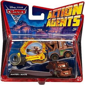 Disney / Pixar CARS 2 Movie Action Agents Mater