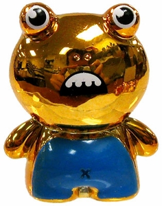 Crazy Bones Gogo's Gold Series Limited Edition 2 Tin LOOSE Single Figure Gold Ilo