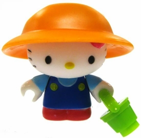 Hello Kitty Mega Bloks LOOSE Series 2 Mini Figure Garden Kitty