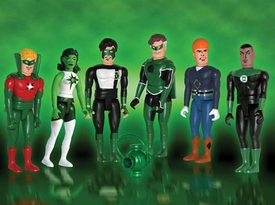 DC Direct Pocket Super Heroes Green Lantern Corps Box Set BLOWOUT SALE!