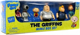 Family Guy 6 Piece Mini Figure Boxed Set The Griffins