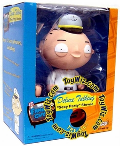 Mezco Toyz Family Guy Deluxe Talking Action Figure Sexy Party Stewie