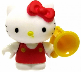 Hello Kitty Mega Bloks LOOSE Series 2 Mini Figure Trumpet Kitty