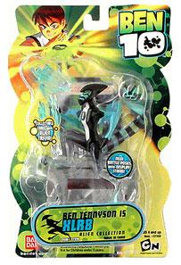 Ben 10 Alien 4 Inch Series 2 Action Figure XLR8 [Battle Version]