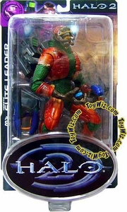 Halo 2 Action Figure Series 8 Heretic Elite Leader [Sangheili]