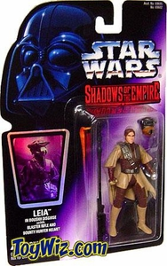 Star Wars POTF2 Shadows of the Empire Hologram Leia in Boushh Disguise