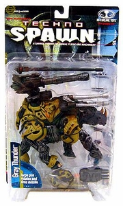 McFarlane Toys Spawn Series 15 Techno Spawn Action Figure Gray Thunder