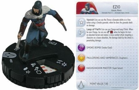 Heroclix Assassin's Creed Revelations Single Figure & Card #001 Ezio