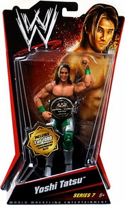 Mattel WWE Wrestling Basic Series 7 Action Figure Yoshi Tatsu [with Commemorative Belt]