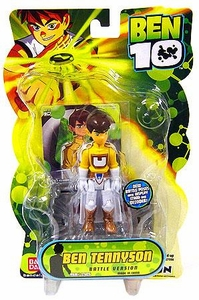 Ben 10 Alien 4 Inch Series 2 Action Figure Ben Tennyson [Battle Version]