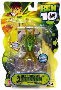 Ben 10 Alien 4 Inch Series 2 Action Figure Wildvine [Battle Version]