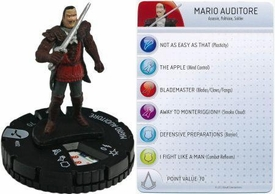 Heroclix Assassin's Creed Brotherhood Single Figure & Card #002 Mario Auditore