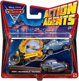 Disney / Pixar CARS 2 Movie Action Agents Finn McMissile