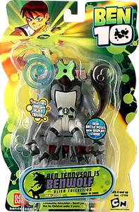 Ben 10 Alien 4 Inch Series 2 Action Figure Benwolf [Battle Version]