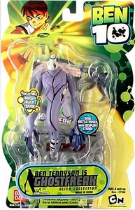 Ben 10 Alien 4 Inch Series 2 Action Figure Ghostfreak [Battle Version]