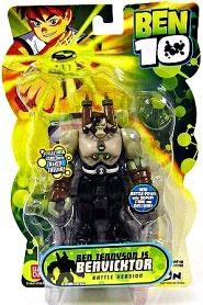 Ben 10 Alien 4 Inch Series 2 Action Figure BenVicktor [Battle Version]