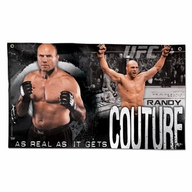 Wincraft UFC & MMA Mixed Martial Arts Wall Banner Randy Couture