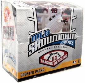 2003 MLB Showdown Trading Deadline Booster Pack [9 Cards]