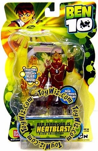 Ben 10 Alien 4 Inch Series 2 Action Figure Heatblast [Battle Version]