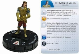 Heroclix Assassin's Creed Brotherhood Single Figure & Card #006 Octavian de Valois