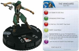 Heroclix Assassin's Creed Revelations Single Figure & Card #006 The Vanguard