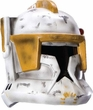 Star Wars The Clone Wars Rubies Costume #4529 Clone Trooper Commander Cody Two Piece Helmet