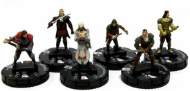 Heroclix Assassin's Creed Brotherhood Set of all 6 Figures