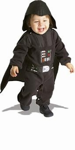 Star Wars Costume #11609 Darth Vader Romper (Infant Size)