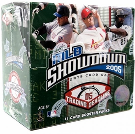 2005 MLB Showdown Trading Deadline Booster Pack [11 cards]