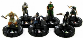 Heroclix Assassin's Creed Revelations Set of all 6 Figures