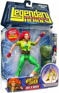 Legendary Heroes Marvel Toys Series 2 Action Figure Ann O'Brien BLOWOUT SALE!
