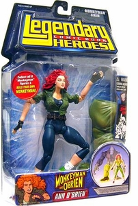 Legendary Heroes Marvel Toys Series 2 Variant Action Figure Ann O'Brien [Blue Pants]