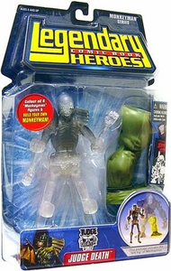 Legendary Heroes Marvel Toys Series 2 Variant Action Figure Judge Death [Clear version]