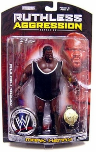 WWE Wrestling Ruthless Aggression Series 30 Action Figure Mark Henry