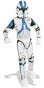 Star Wars Costume #882010 Clone Trooper Blue (Child Large Size)
