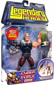 Legendary Heroes Marvel Toys Series 2 Action Figure Stryker BLOWOUT SALE!