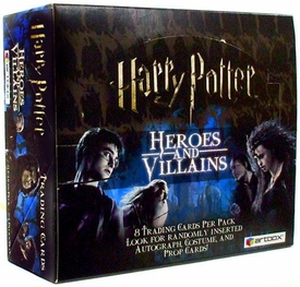Artbox Harry Potter Trading Cards Heroes & Villains Booster Box [24 Packs]