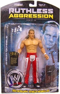 WWE Wrestling Ruthless Aggression Series 29 Action Figure Shawn Michaels