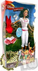 High School Musical 2 Fashion Doll Figure Gabriella [White Outfit]