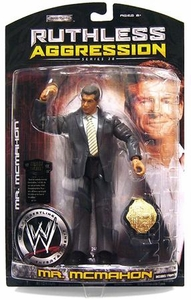 WWE Wrestling Ruthless Aggression Series 28 Action Figure Mr. McMahon