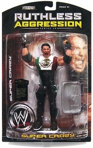 WWE Wrestling Ruthless Aggression Series 28 Action Figure Super Crazy