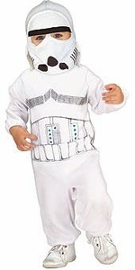 Star Wars Costume #885307 Stormtrooper Romper (Child Newborn Size)