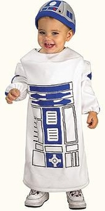 Star Wars Costume #885310 R2-D2 Romper (Child Newborn Size)