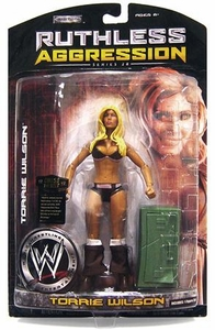 WWE Wrestling Ruthless Aggression Series 28 Action Figure Torrie Wilson