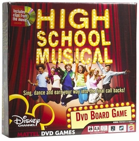 High School Musical Official DVD Board Game