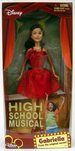 High School Musical Doll Figure Gabriella [Red Dress]