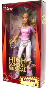 High School Musical Doll Singing Figure Sharpay [Pink Shirt, White Pants]
