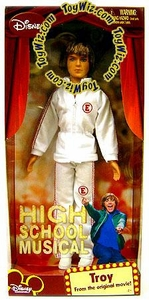 High School Musical Doll Figure Troy [White Sweat Suit]