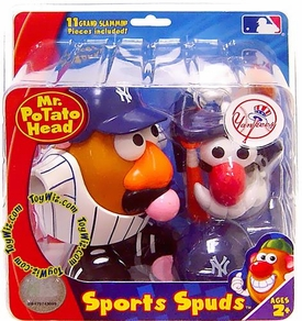 New York Yankees Mr. Potato Head MLB Sports Spuds