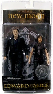 NECA Twilight New Moon Movie Action Figure 2-Pack Edward & Alice